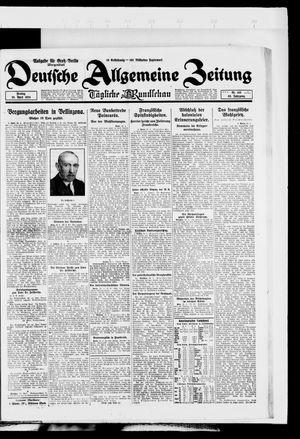Deutsche allgemeine Zeitung vom 25.04.1924