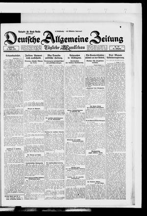 Deutsche allgemeine Zeitung vom 26.04.1924