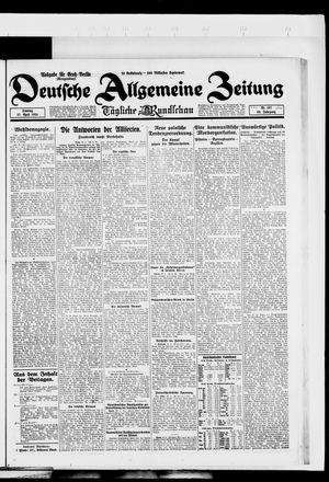 Deutsche allgemeine Zeitung vom 27.04.1924