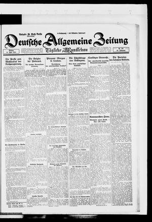 Deutsche allgemeine Zeitung vom 28.04.1924