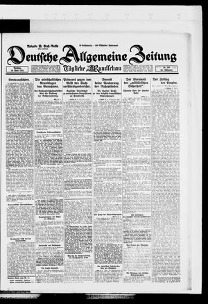Deutsche allgemeine Zeitung vom 29.04.1924