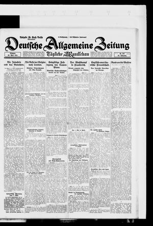 Deutsche allgemeine Zeitung vom 30.04.1924