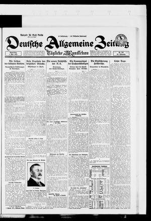 Deutsche allgemeine Zeitung vom 01.05.1924