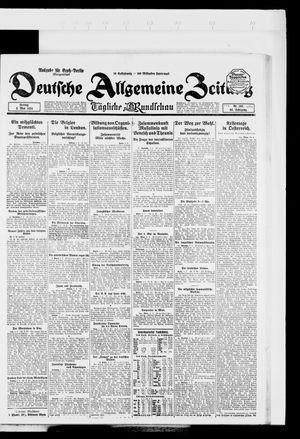 Deutsche allgemeine Zeitung vom 02.05.1924