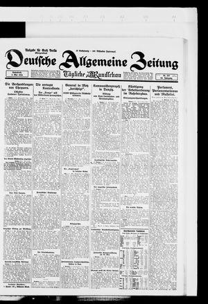 Deutsche allgemeine Zeitung on May 3, 1924