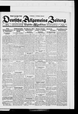 Deutsche allgemeine Zeitung vom 07.05.1924