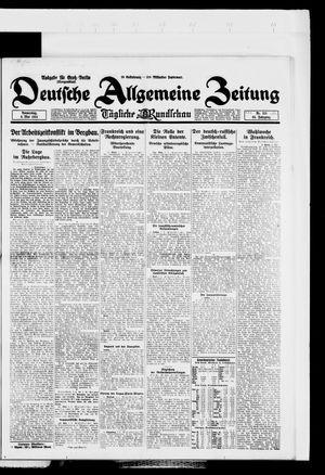 Deutsche allgemeine Zeitung vom 08.05.1924