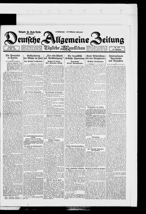 Deutsche allgemeine Zeitung vom 10.05.1924