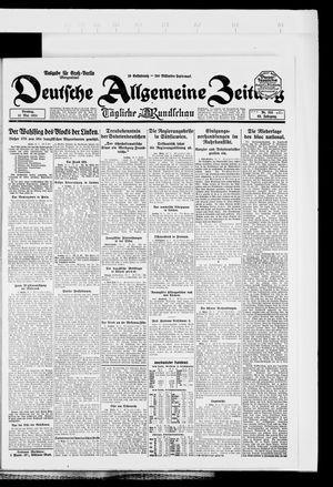 Deutsche allgemeine Zeitung vom 13.05.1924