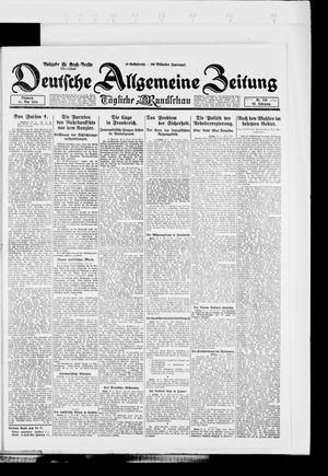 Deutsche allgemeine Zeitung vom 14.05.1924