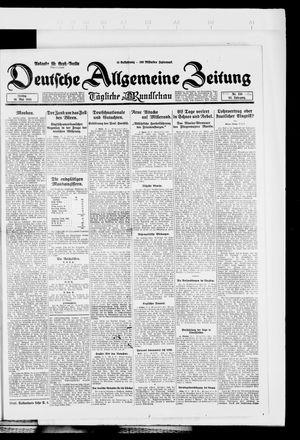Deutsche allgemeine Zeitung on May 16, 1924