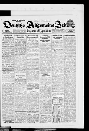 Deutsche allgemeine Zeitung vom 17.05.1924