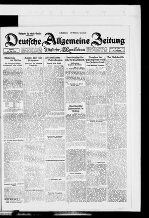 Deutsche allgemeine Zeitung vom 19.05.1924