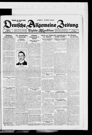 Deutsche allgemeine Zeitung vom 20.05.1924