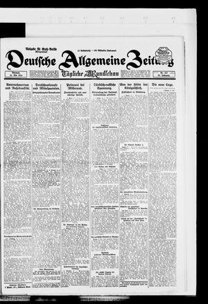 Deutsche allgemeine Zeitung vom 21.05.1924