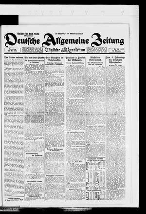 Deutsche allgemeine Zeitung vom 22.05.1924
