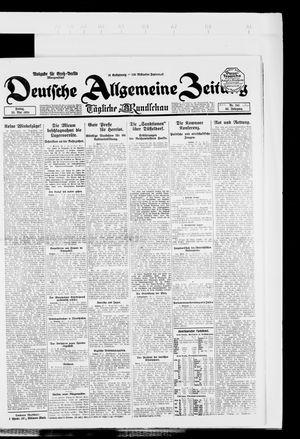 Deutsche allgemeine Zeitung on May 23, 1924
