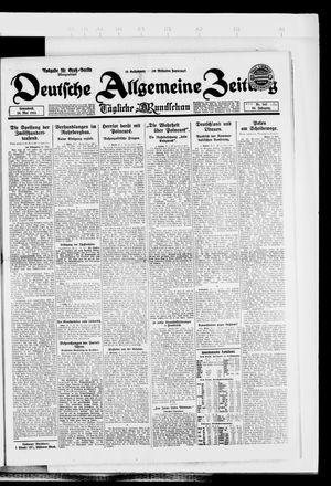 Deutsche allgemeine Zeitung vom 24.05.1924
