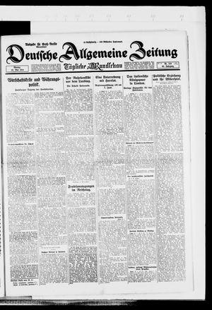 Deutsche allgemeine Zeitung vom 26.05.1924