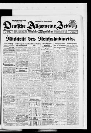 Deutsche allgemeine Zeitung vom 27.05.1924