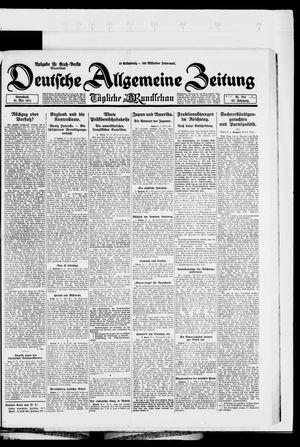 Deutsche allgemeine Zeitung vom 31.05.1924