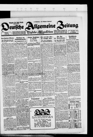 Deutsche allgemeine Zeitung vom 02.07.1924