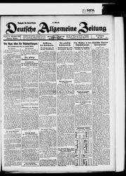 Deutsche allgemeine Zeitung (17.11.1925)