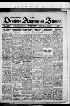 Deutsche allgemeine Zeitung vom 01.01.1926