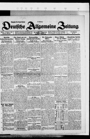 Deutsche allgemeine Zeitung vom 10.01.1926