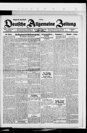 Deutsche allgemeine Zeitung vom 02.02.1926