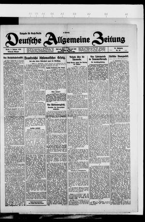Deutsche allgemeine Zeitung vom 03.02.1926