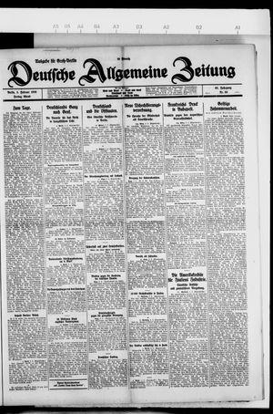 Deutsche allgemeine Zeitung on Feb 5, 1926
