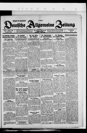 Deutsche allgemeine Zeitung on Feb 6, 1926