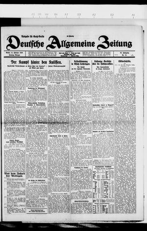Deutsche allgemeine Zeitung vom 14.02.1926