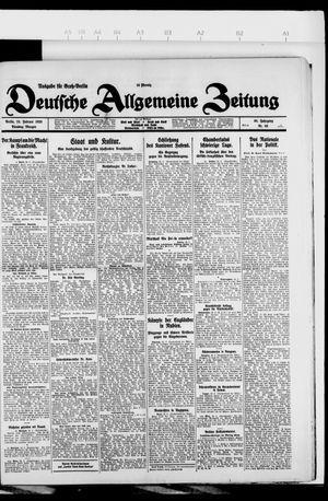Deutsche allgemeine Zeitung vom 23.02.1926