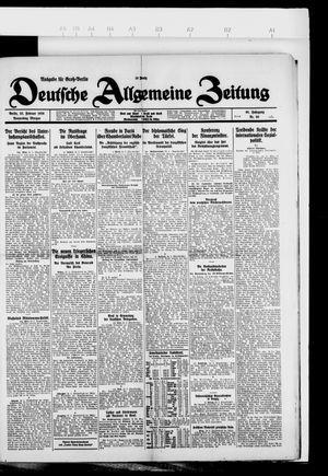 Deutsche allgemeine Zeitung vom 25.02.1926