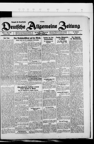 Deutsche allgemeine Zeitung vom 02.03.1926
