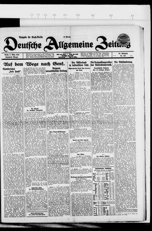 Deutsche allgemeine Zeitung vom 06.03.1926