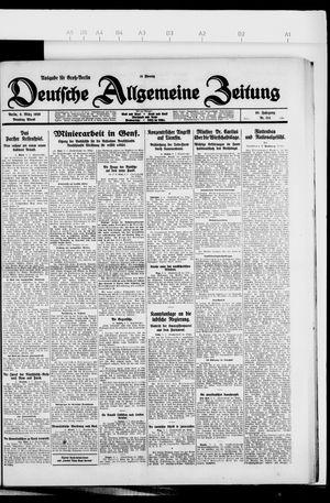 Deutsche allgemeine Zeitung vom 09.03.1926