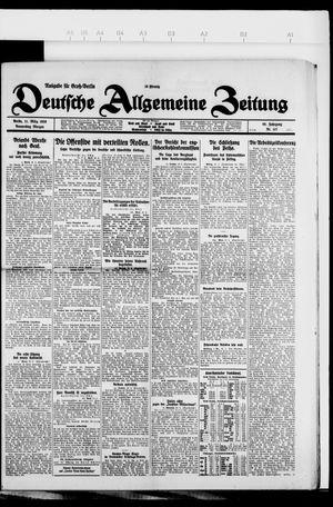 Deutsche allgemeine Zeitung on Mar 11, 1926