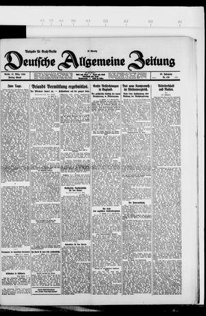 Deutsche allgemeine Zeitung vom 12.03.1926