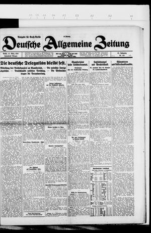 Deutsche allgemeine Zeitung vom 13.03.1926