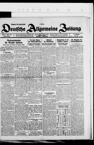 Deutsche allgemeine Zeitung vom 19.03.1926