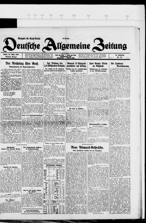 Deutsche allgemeine Zeitung vom 23.03.1926
