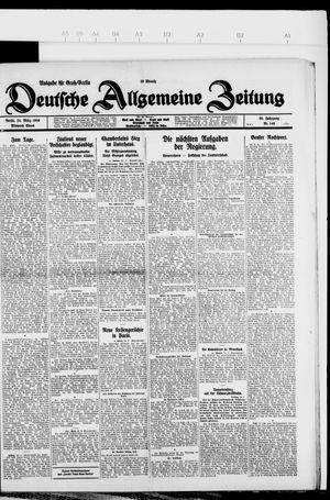 Deutsche allgemeine Zeitung vom 24.03.1926