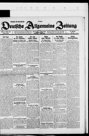 Deutsche allgemeine Zeitung vom 26.03.1926