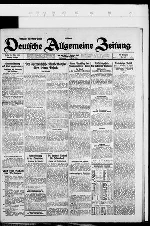 Deutsche allgemeine Zeitung vom 28.03.1926