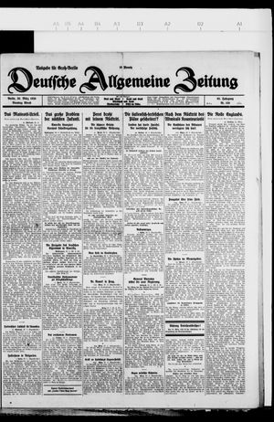 Deutsche allgemeine Zeitung on Mar 30, 1926