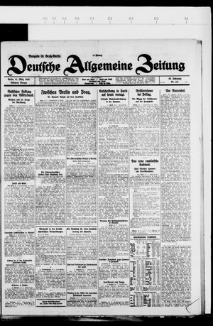 Deutsche allgemeine Zeitung vom 31.03.1926