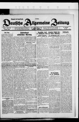Deutsche allgemeine Zeitung vom 07.04.1926